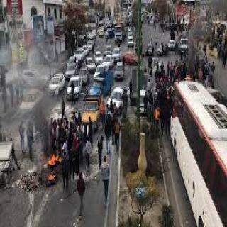 #إيران تتجاهل قتلى الاحتجاجات وتتحدث عن مئات الحراق