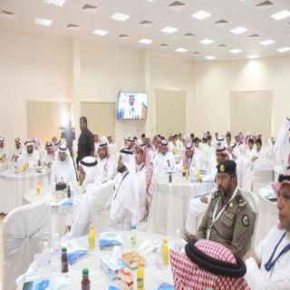 بحضور أكثر من 200شاب وشابة الحياني يرعى ورشة المركز الشبابي ببحر أبو سكينة