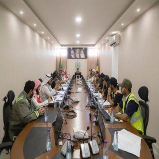 مدني القصيم يعقد إجتماعاً تنسيقياً مع الجهات الخيرية والتطوعية