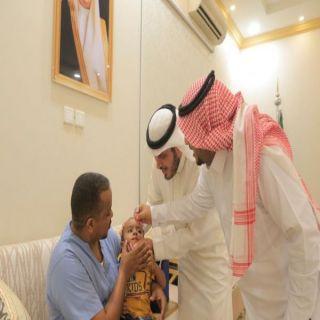 البناوي وبحضور مدير القطاع يطلق حملة التطعيم ضد شلل الأطفال في #بارق