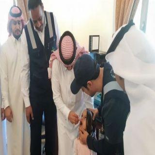 المرزوقي يدشن حملة التطعيم ضد شلل الأطفال في #المجاردة