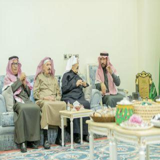 أمين منطقة القصيم م.محمد المجلي يستقبل لجنة أهالي بريدة