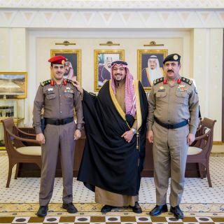 سمو أمير القصيم يُقلد مدير شعبة الأمن بلإمارة رتبتة الجديدة