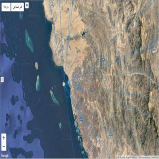 هزة ارضية على عمق 15كم وبقوة 3.4 غرب #محايل عسير