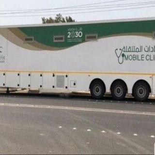 #بارق: عربة العيادة المتنقلة تصل قرى وادي الخير شمال ثلوث المنظر