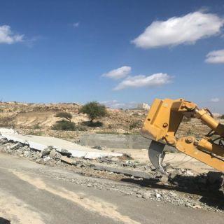 بلدية #بلقرن تستعيد 2200متر مربع أراضي حكومية