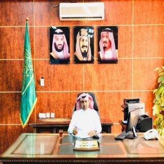"""آل البراق"" يُباشر مهام عمله رئيساً لمجلس بلدي #بارق"