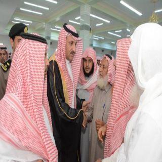 """وكيل مُحافظة #محايل ينقل تعازي القيادة لذوي"""" الختارشي"""" ببحر أبو سكينة"""