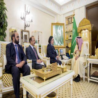 سمو أمير منطقة القصيم يستقبل السفير الباكستاني