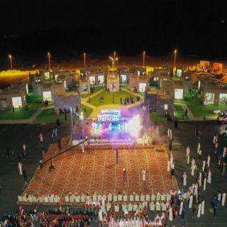 دعوة لحضور إحتفال مركزي جمعة ربيعة وسيالة وسليم ضمن فعاليات مهرجان بارق الشتوي