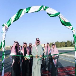 سمو أمير #الحدود_الشمالية يُدشن مشروع تقاطع جسر حي المباركية بـ #عرعر