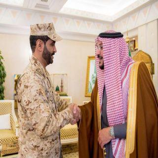 أميرالقصيم يستقبل العميد الشمري قائد لواء الخليفة عمر بن عبدالعزيز للأمن الخاص في المنطقة