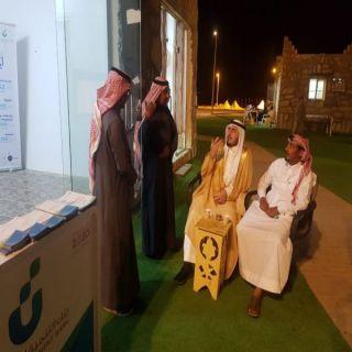 محافظ #بارق يقف على أختتام معرض هيئة المحافظة ويزور معرض التنمية