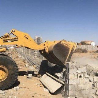 #أمانة_جدة تُزيل 17 موقعًا مخالفًا بنطاق بلدية طيبة الفرعية