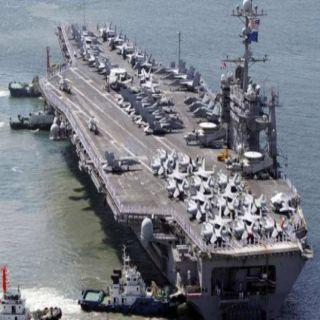 ماكرون فرنسا سترسل حاملة الطائرات «شارل ديغول» للشرق الأوسط