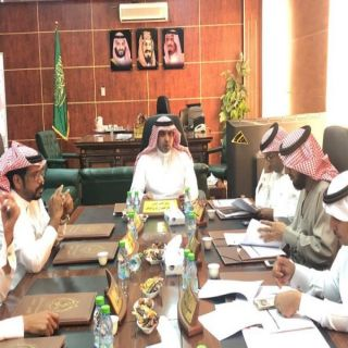 بلدي #بارق يطلع على ميزانية البلدية ويُناقش المشاريع البلدية