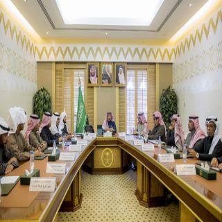 أمير منطقة القصيم يرأس اجتماع رؤساء وأمناء الغرف التجارية بالمنطقة