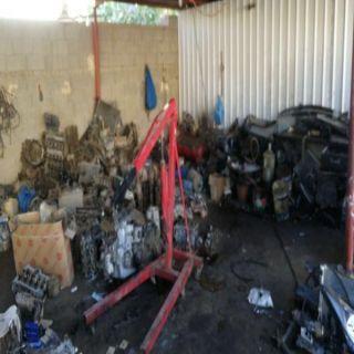 #جدة بلدية أبرق الرغامة الفرعية تٌغلق  (140) ورشة مخالفة