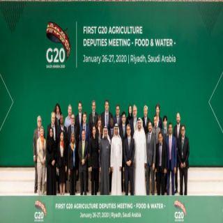 وكلاء الزراعة والمياه يناقشون تحديات الأمن الغذائي وإدارة المياه