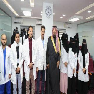 سمو أمير الشمالية يتفقد مركز المهارات الفنية والبورد السعودي بصحة المنطقة
