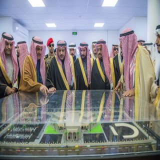 أمير القصيم يدشن مشاريع تنموية بقيمة تزيد عن 554 مليون ريال في #البكيرية
