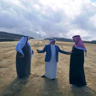 الحميدي يقف على سير الاعمال في مشاريع أبها