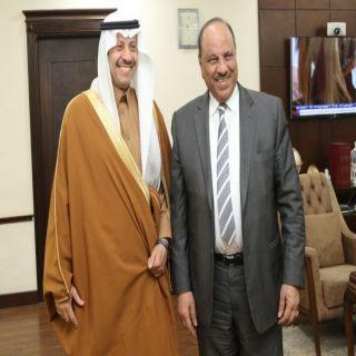 السفير السعودي في #الأردن يلتقي وزير الداخلية الأردني