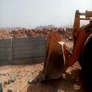 #أمانة_جدة تزيل تعديات بمساحة تتجاوز 1.4 مليون متر مربع