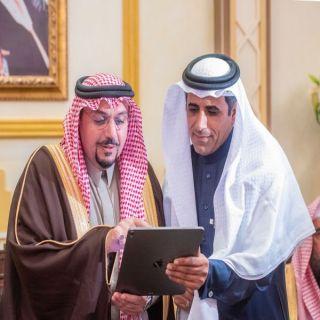 الأمير فيصل بن مشعل يدشن أيقونة «القصيم» في موقع #صحيفة_الوطن الإلكتروني