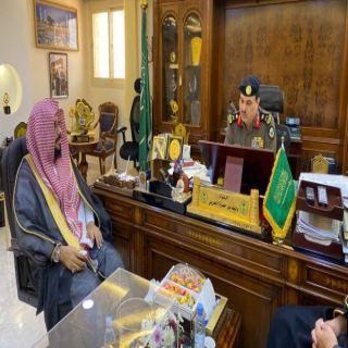مدير هيئة الباحة ومدير شرطة المنطقة يبحثان سبل التعاون المشترك