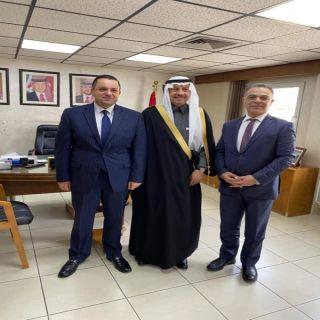 سفير المملكة لدى الأردن يلتقي بوزيري المالية والتخطيط والتعاون الدولي الأردنيين .