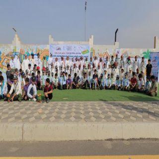 آل منشط يُدشن المشروع الكشفي الوطني لنظافة البيئة وحمايتها الـ12 في #بارق