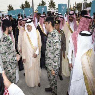 سمو أمير #مكة_المكرمة يزور جناح سجون المنطقة بمعرض القوات الخاصة لأمن الطرق