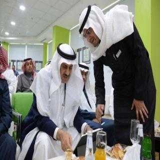 مدير #جامعة_الملك_خالد يدشن البوابة الإلكترونية بنسختها الجديدة