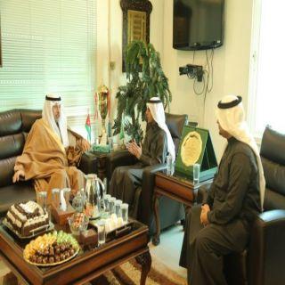 سفير المملكة لدى الأردن يزور الملحقية الثقافية السعودية بالأردن
