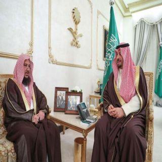سمو امير الشمالية يستقبل  عضو هيئة كبار العلماء الشيخ عبدالسلام السليمان