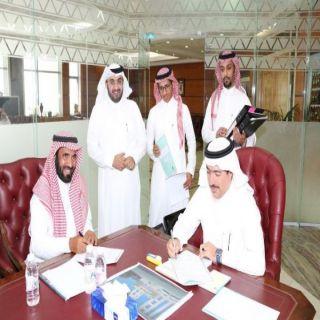 أمين عسير يوقع عقدين إنشاء مدينة العاب بطريق الملك عبدالله ومقهى ومطعم بأبوخيال