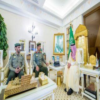 سمو أمير منطقة القصيم يستقبل العميد الشبرمي بمناسبة تكليفه مديراًلجوازات المنطقة