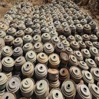 #اليمن :مشروع مسام ينتزع 2.257 لغمًا في أسبوع