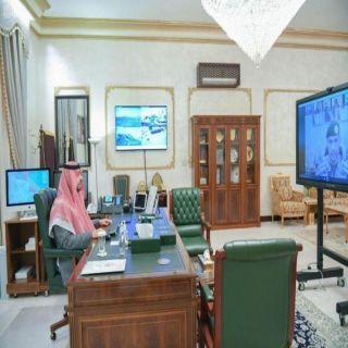سمو أمير الشمالية يرأس اجتماعات القيادات الأمنية عبر الإتصال المرئي