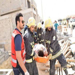 إنهيار سور فيلا شمال الرياض ينتهي بوفاة وإصابة 5 أخرين