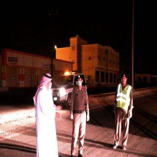 آل خلبان يتفقد الإجراءات الأمنية والوقائية بمركز #ثربان