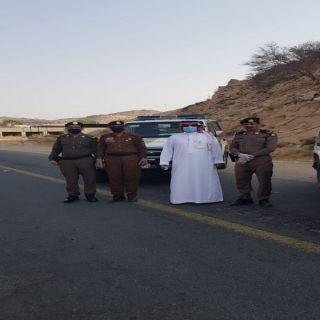 آل جرادة يقف على الإجراءات الإحترازية  بأحد ثربان