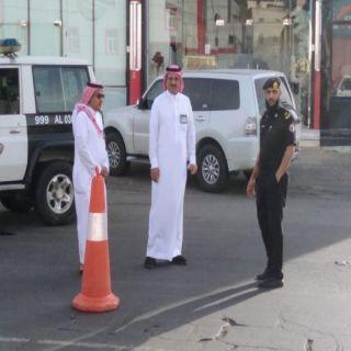 وكيل محافظة محايل المكلف يتفقد  عددا من النقاط الأمنيه