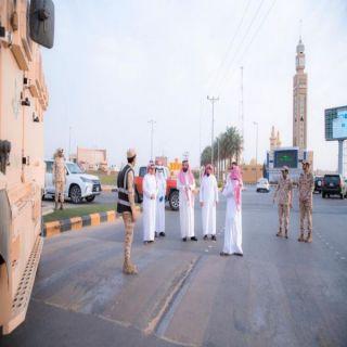 مدير تعليم البكيرية يدشن مبادرة التطوع ويشكر رجال الأمن