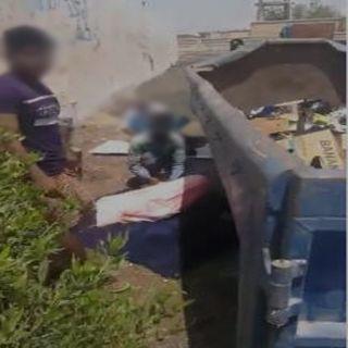 أمين #جدة يوجه بالتحقيق في مقطع فيديو إساءة عمالة لموقع السكن المؤقت
