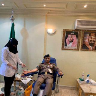 العميد السعوي يُطلق حملة التبرع بالدم لمنسوبي الدفاع المدني بـ #عسير