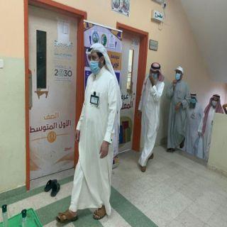 مُحافظ #بارق يتفقد سكن عمال البلدية بإحدى مدارس المُحافظة