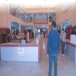 بلدية #محايل تُفعل الكاميرات الحرارية داخل السوق الشعبي وسط المُحافظة