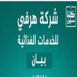 #هرفي تُغلق احترازيًّا معملها بحي المروج وسط الرياض بشكل كامل